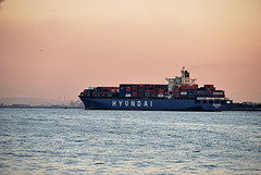 Hyundai Container Ship di ykanazawa1999 by Flickr