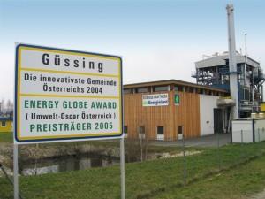 Gussing centrale a biomassa