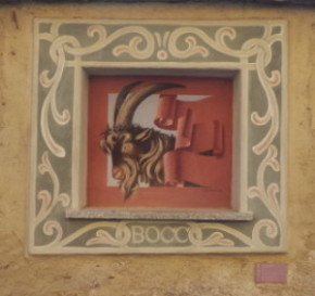 arcumeggia capra dipinto