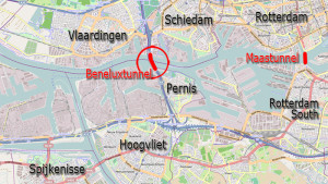 Rotterdam, tunnel ciclabili by bicycledutch.wordpress.com