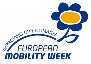 Logo ufficiale della Settimana europea per la mobilità sostenibile